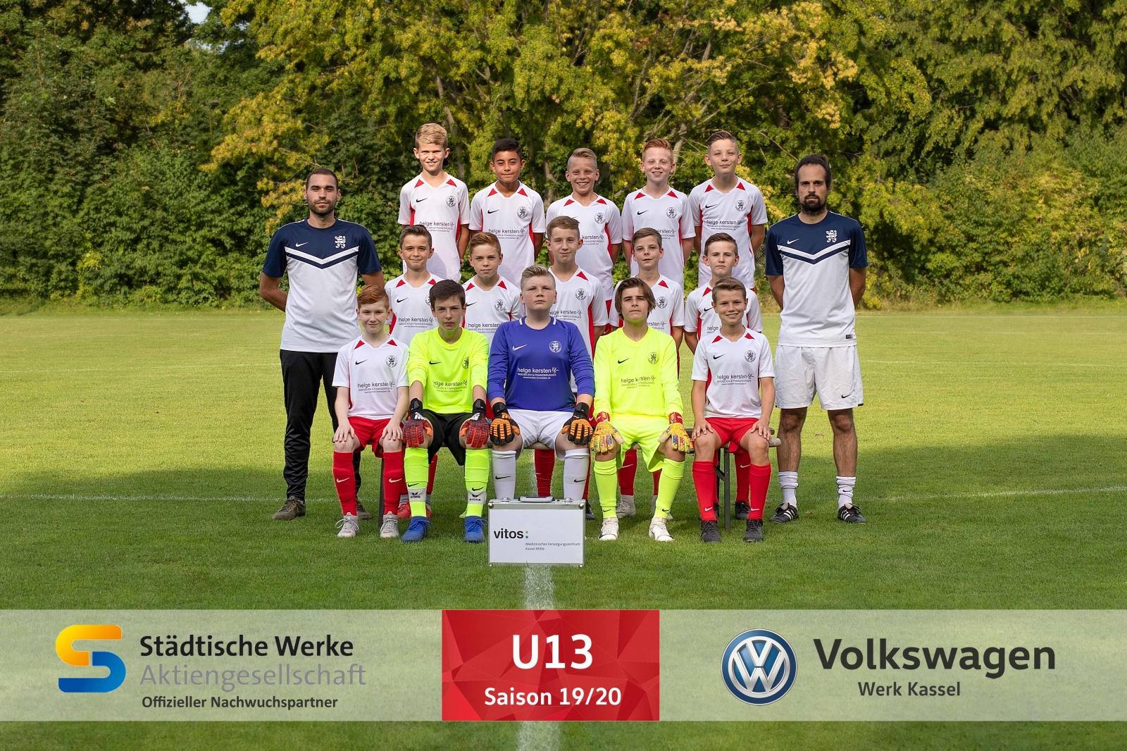 U13 Mannschaft 2019_20