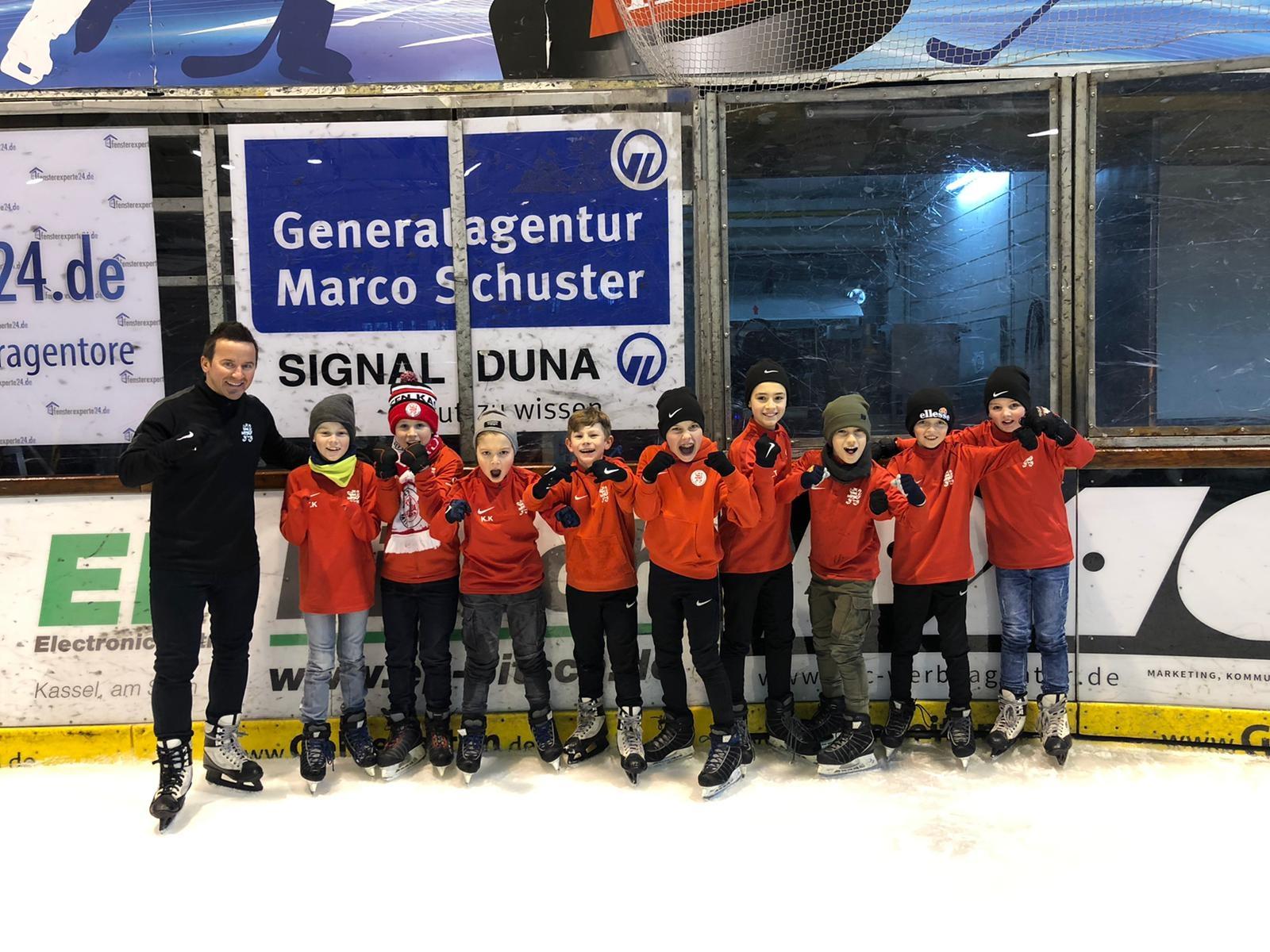 U11 Teamevent Eisporthalle