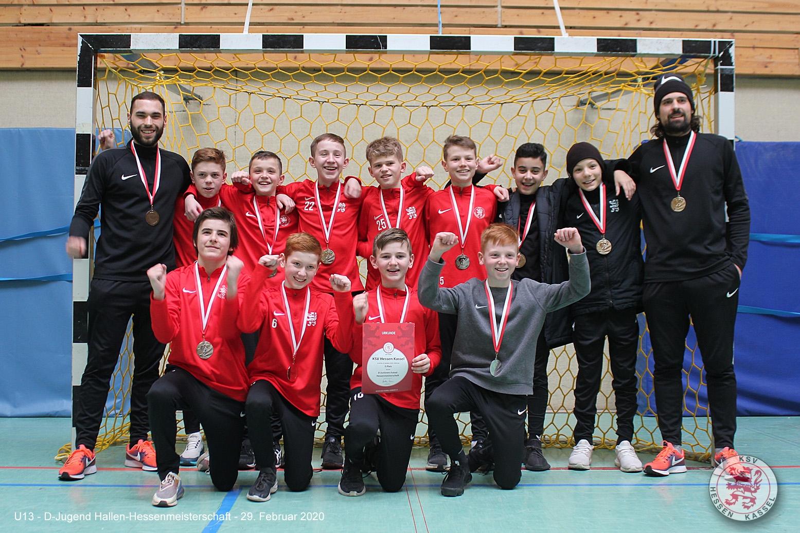 U13 Futsal Hessenmeisterschaft