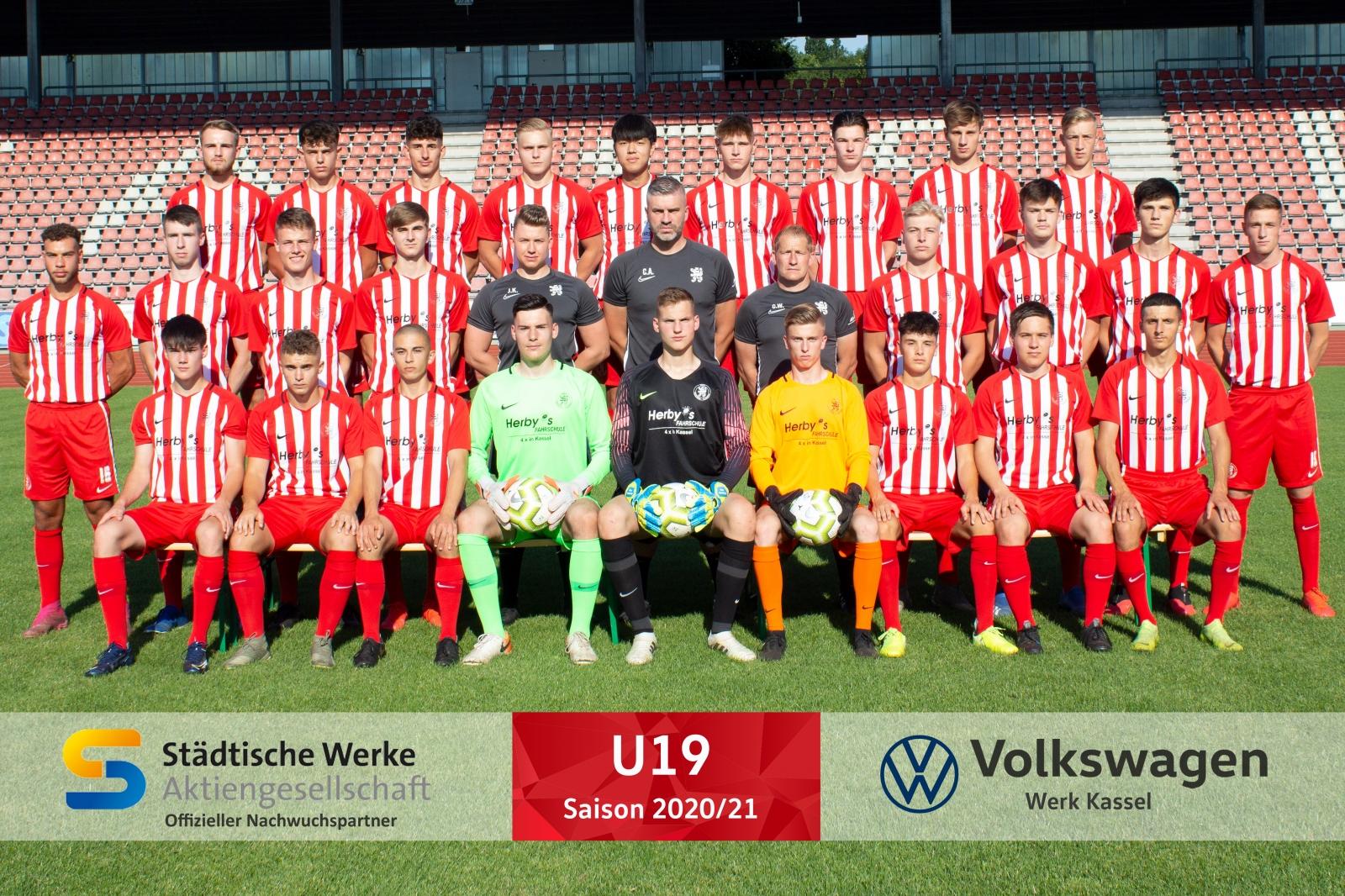 U19 Mannschaft 2020_21
