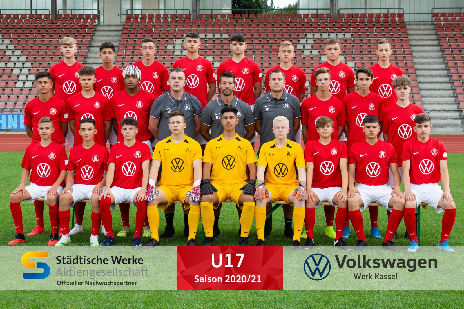 U17 Mannschaft 2020_21
