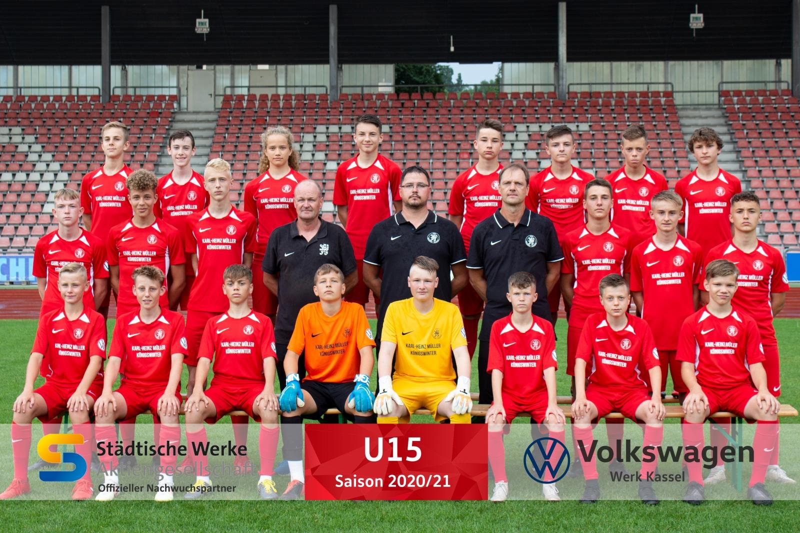 U15 Mannschaft 2020_21