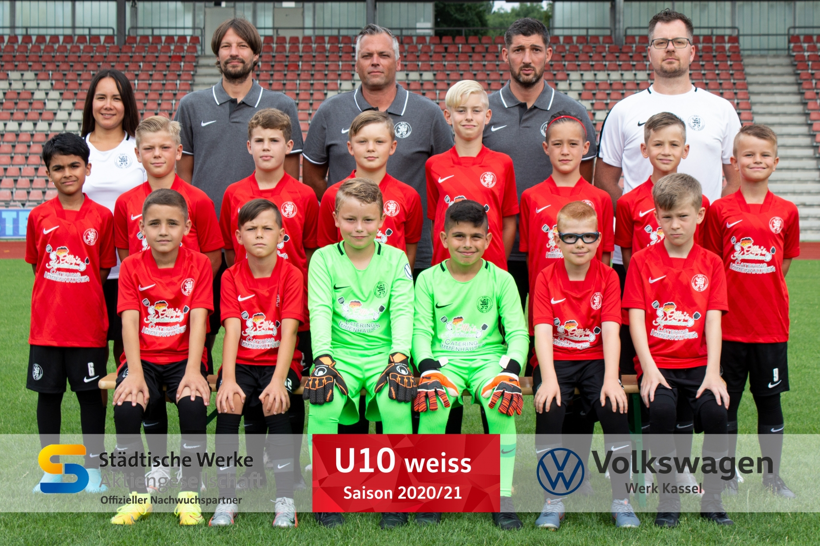 U10 (weiss) Mannschaft 2020_21