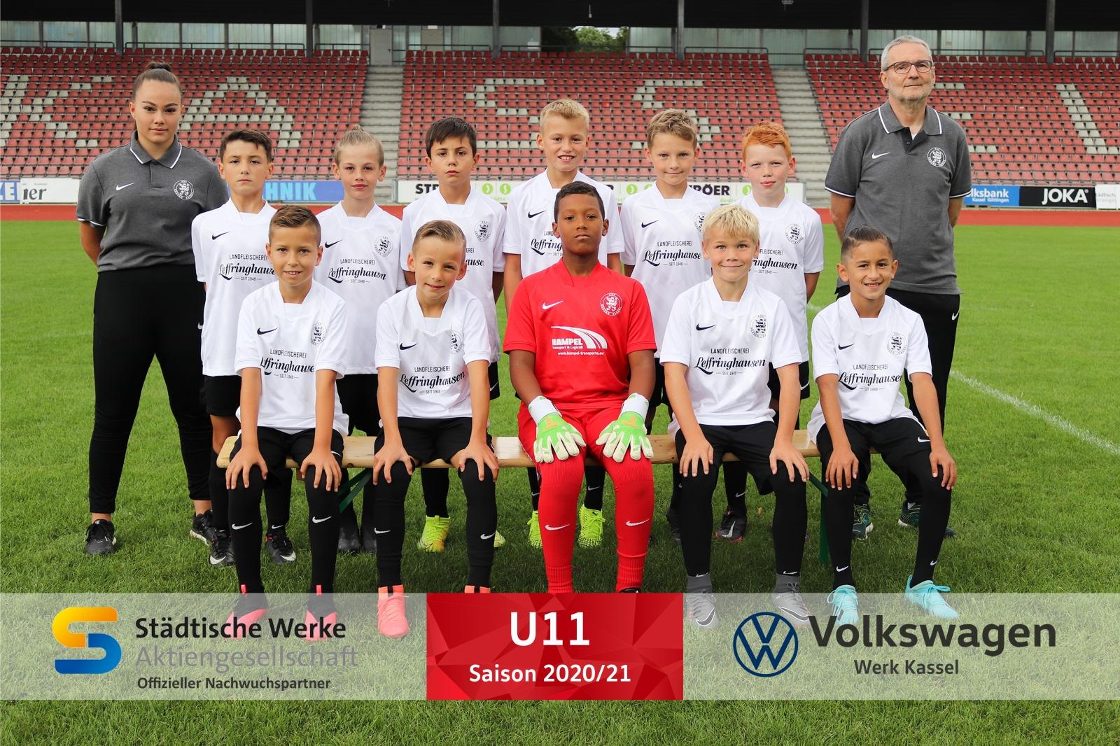 U11 Mannschaft 2020_21