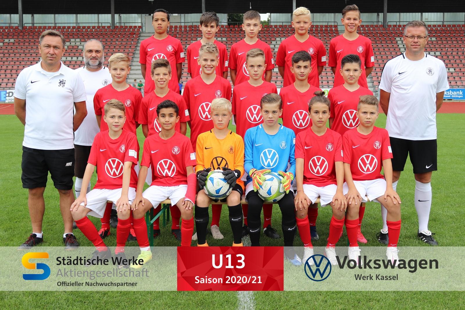 U13 Mannschaft 2020_21