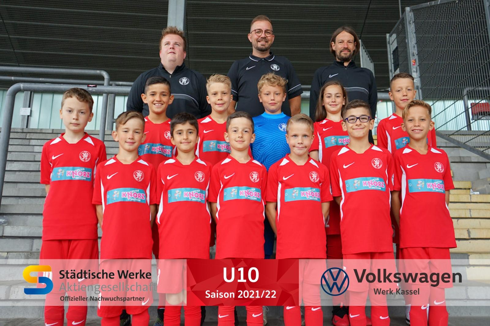 U10 Mannschaft 2021_22