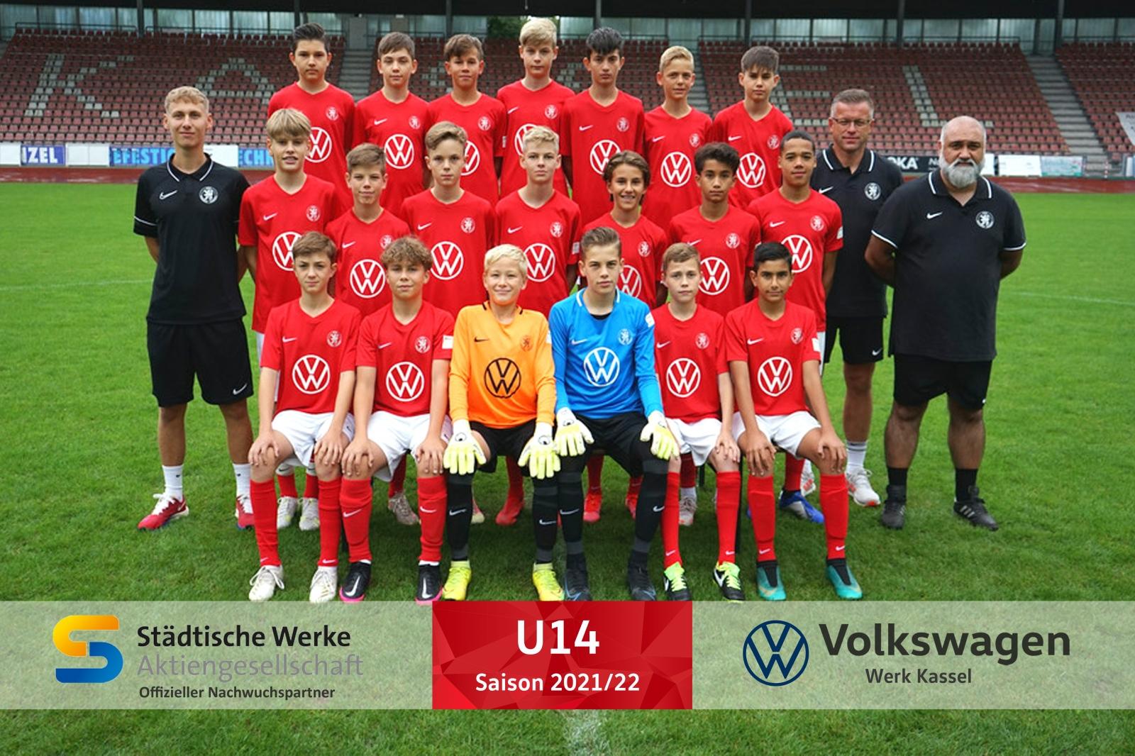 U14 Mannschaft 2021_22