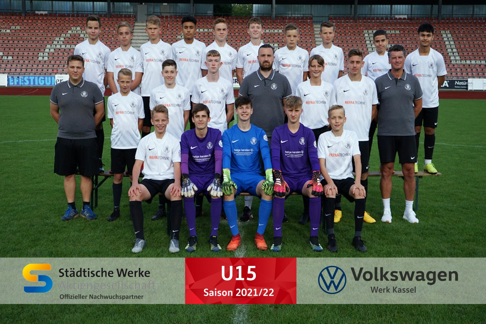 U15 Mannschaft 2021_22