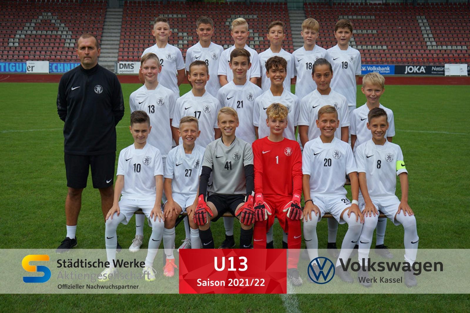 U13 Mannschaft 2021_22