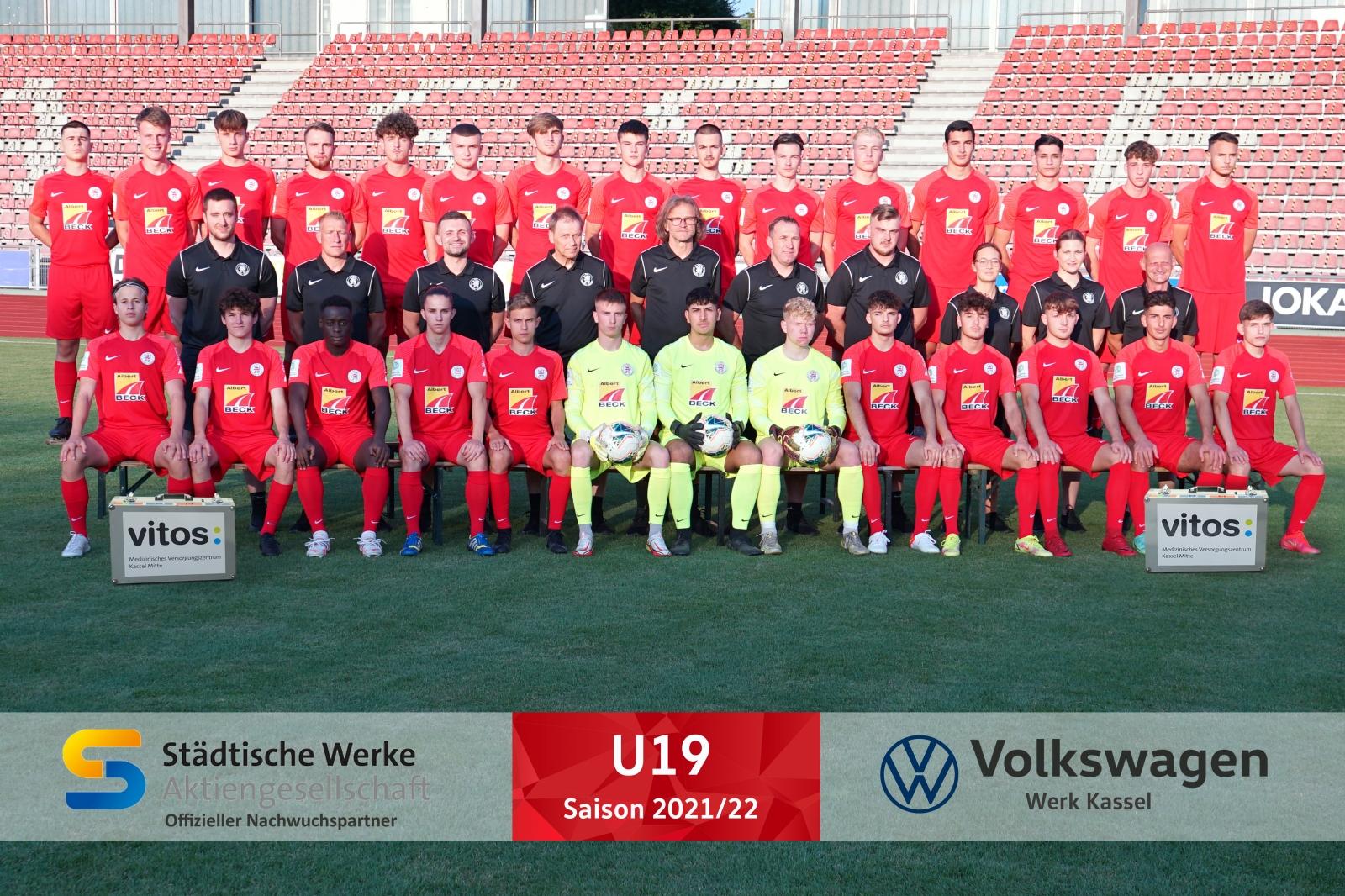 U19 Mannschaft 2021_22