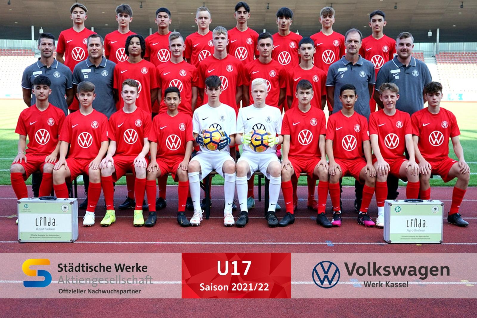 U17 Mannschaft 2021_22