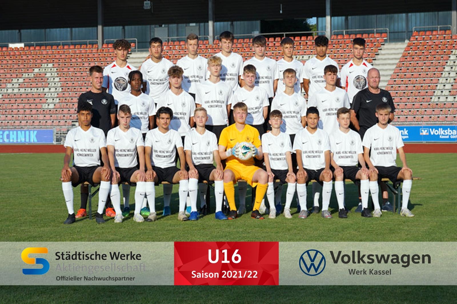 U16 Mannschaft 2021_22