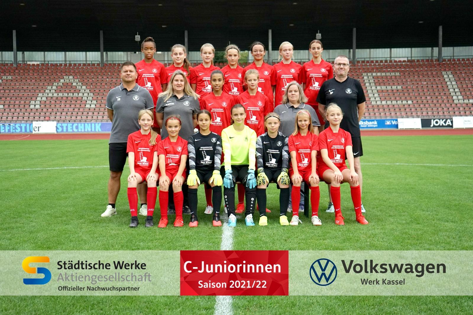 Mannschaftsfoto C-Mädchen