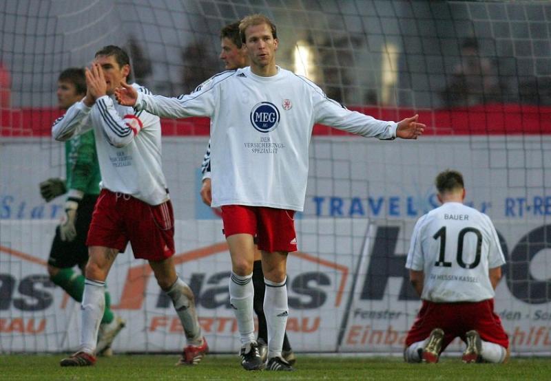 Ziemlich entt�uscht: Thorsten Sch�newolf, Christoph Keim, Thorsten Bauer (L-R)