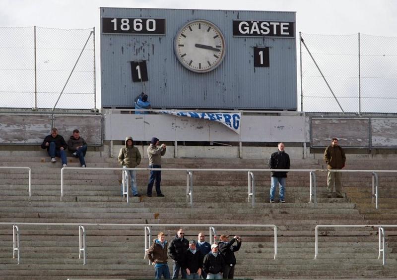 Der Ausgleich in dem fast ausverkauften Stadion an der Gr�nwalderstra�e