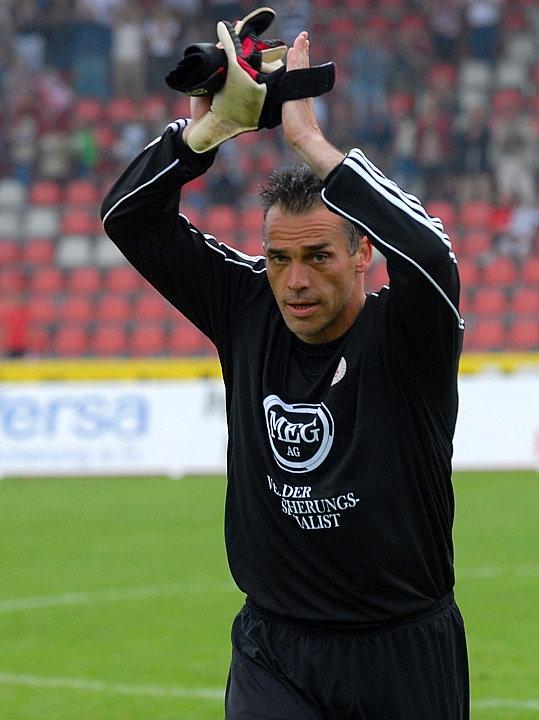 Beendet seine aktive Karriere: Oliver Adler (Torwart KSV Hessen Kassel) verabschiedet sich