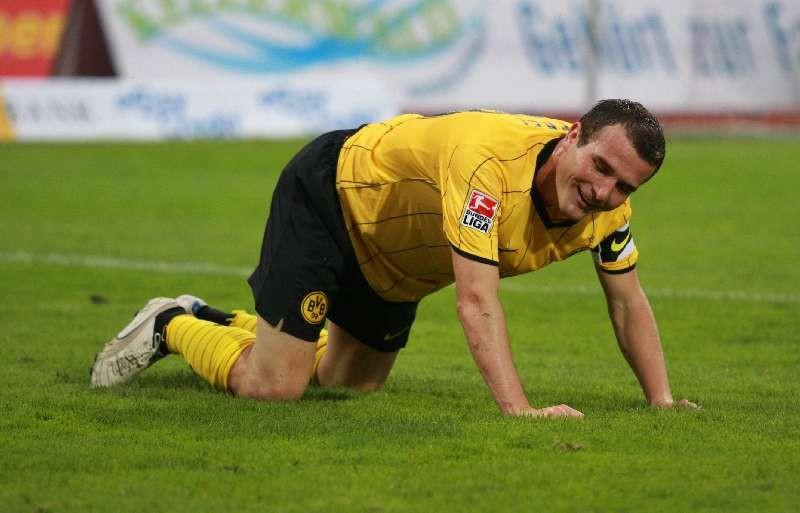 Der zweifache Torsch�tze Alex Frei, Kapit�n der Schweizer Nationalmannschaft