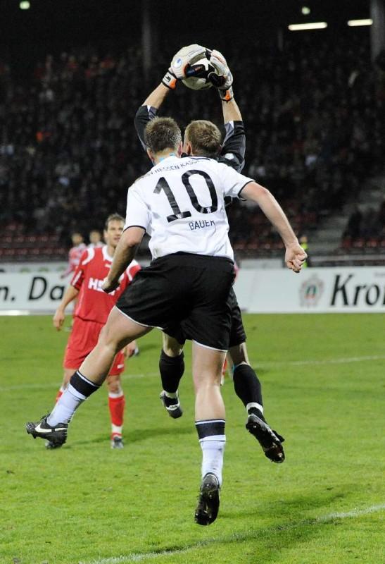 KSV Hessen - SC Pfullendorf: Thorsten Bauer