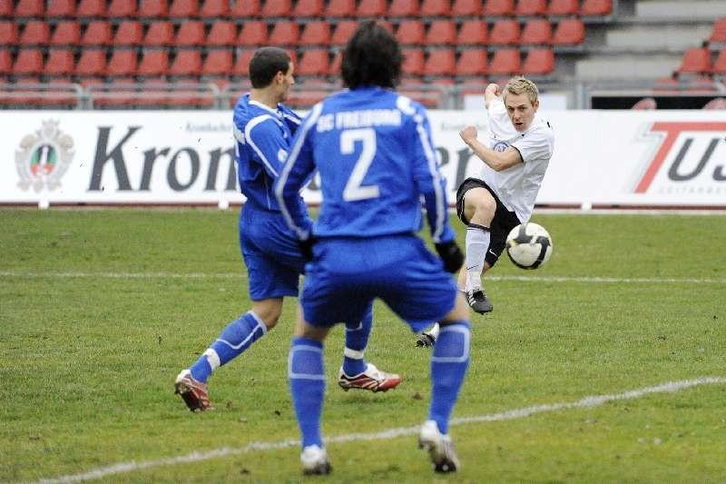 KSV Hessen - SC Freiburg II: Dennis Tornieporth