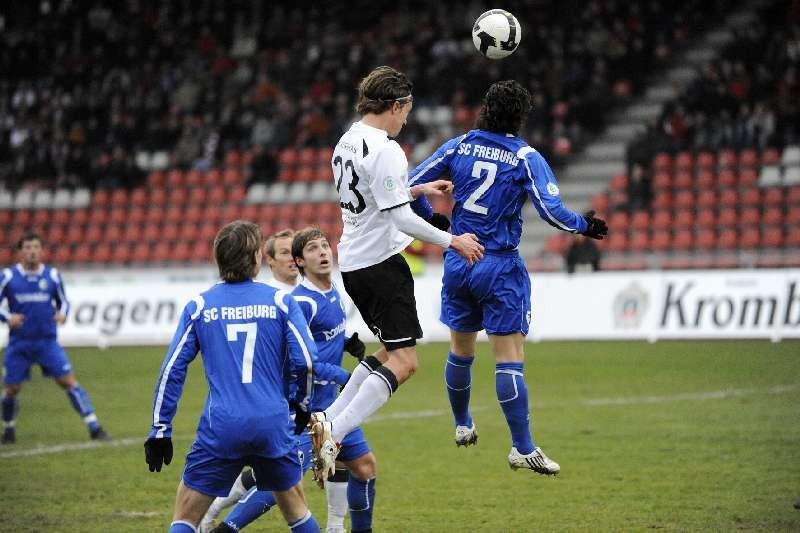KSV Hessen - SC Freiburg II: Marcel Stadel