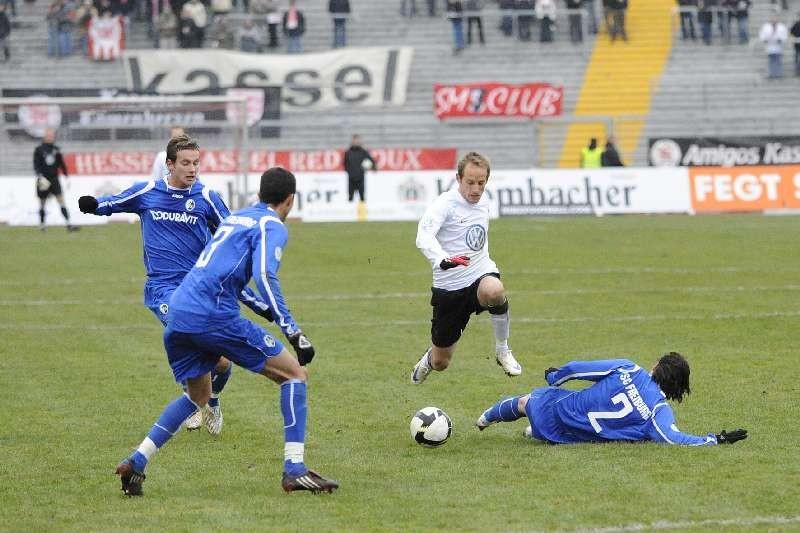KSV Hessen - SC Freiburg II: Rene Ochs