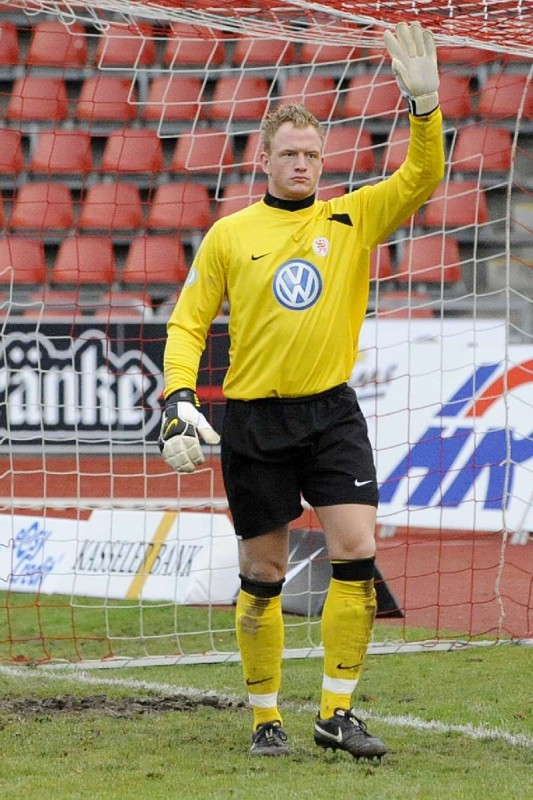KSV Hessen - Greuther F�rth II: Dennis Lamczyk