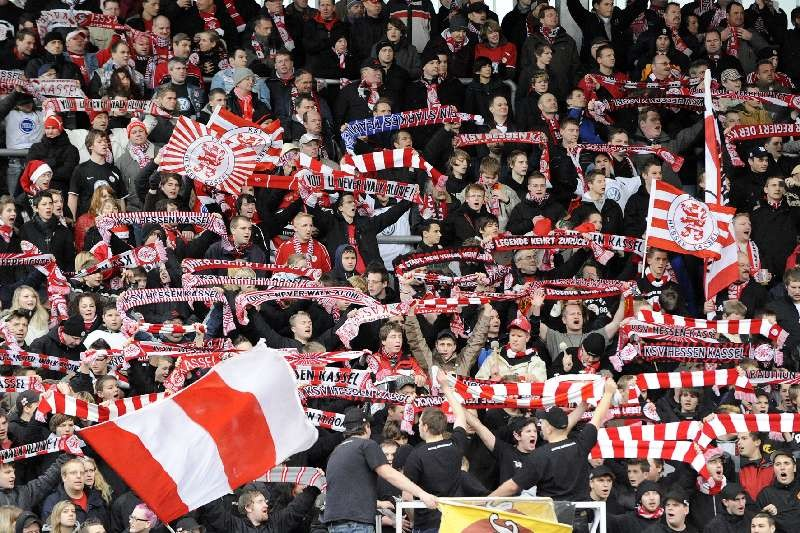 KSV Hessen - Greuther F�rth II: Fans