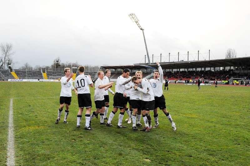 KSV Hessen - Greuther F�rth II: Mannschaft