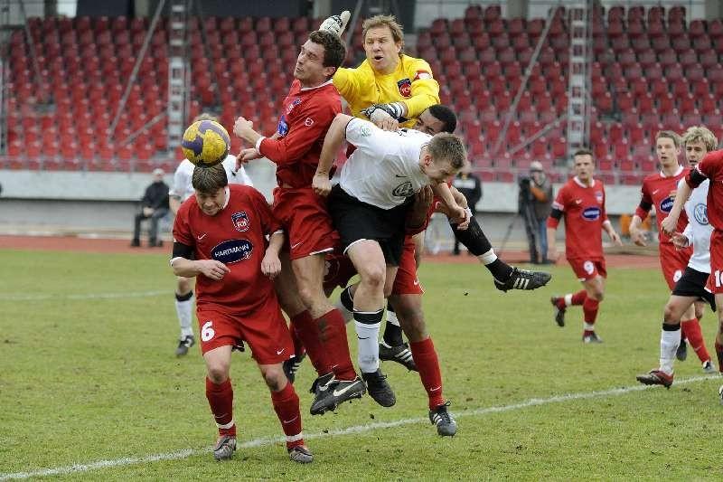 KSV Hessen - FC Heidenheim: Thorsten Bauer