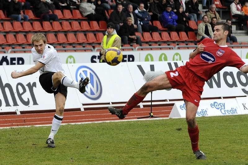 KSV Hessen - FC Heidenheim: Dennis Tornieporth