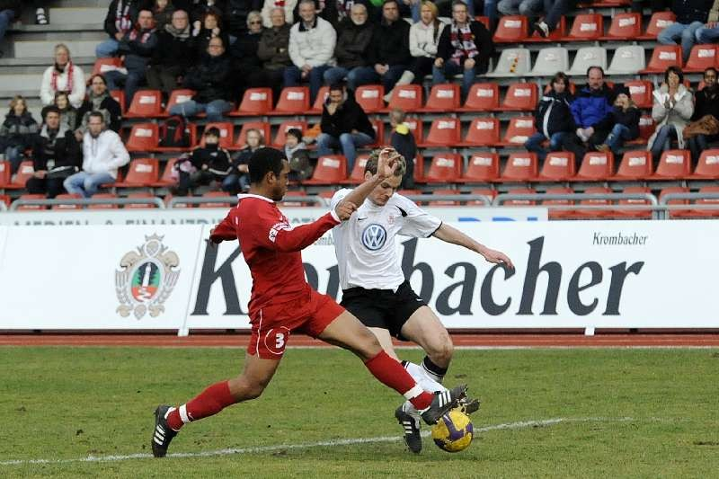 KSV Hessen - FC Heidenheim: Enrico Gaede