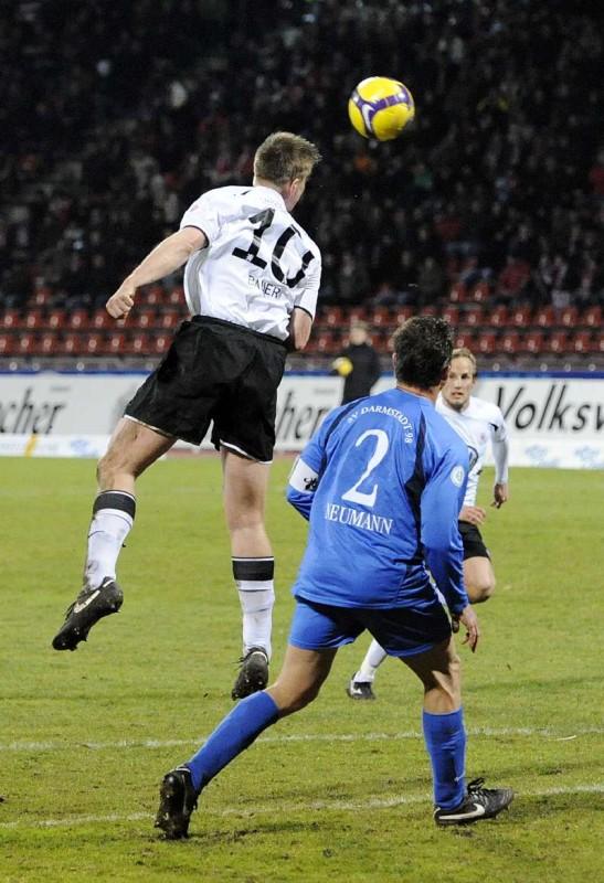 KSV Hessen - SV Darmstadt 98: Thorsten Bauer, Rene Ochs