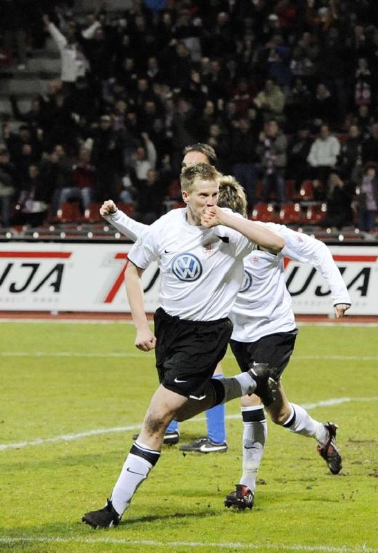 KSV Hessen - SV Darmstadt 98: Thorsten Bauer Jubel
