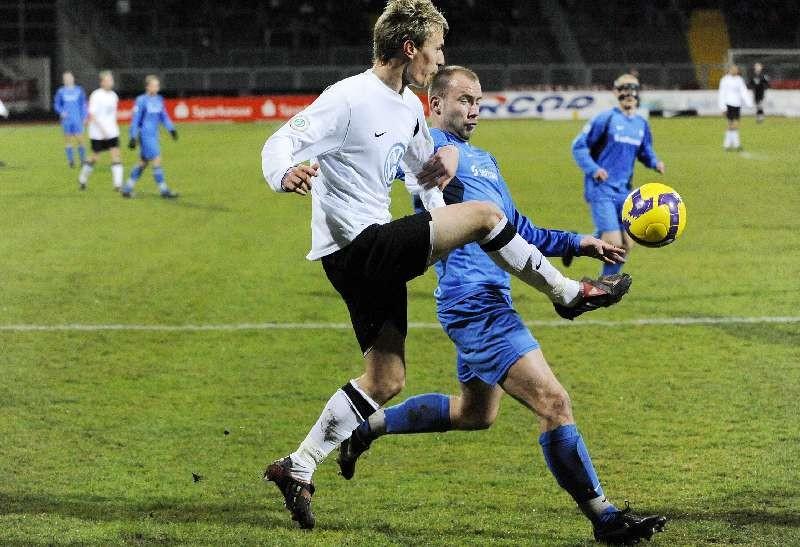 KSV Hessen - SV Darmstadt 98: Kevin W�lk