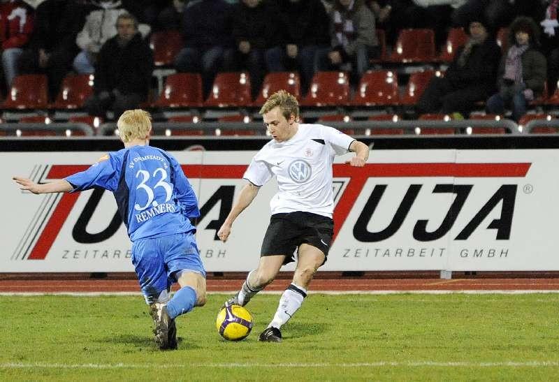 KSV Hessen - SV Darmstadt 98: Dennis Tornieporth