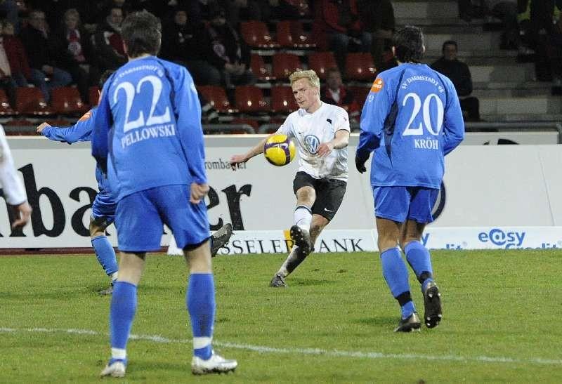 KSV Hessen - SV Darmstadt 98: Sebastian Gundelach