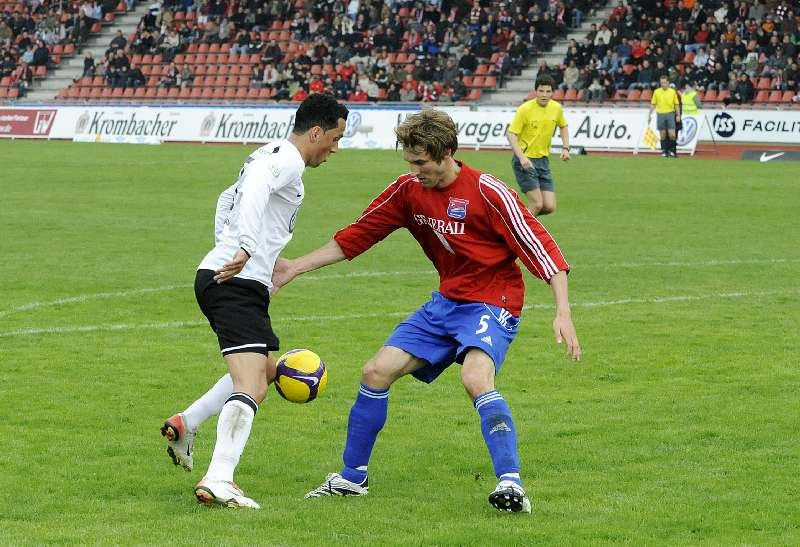 KSV Hessen - SpVgg Unterhaching II: Harez Habib