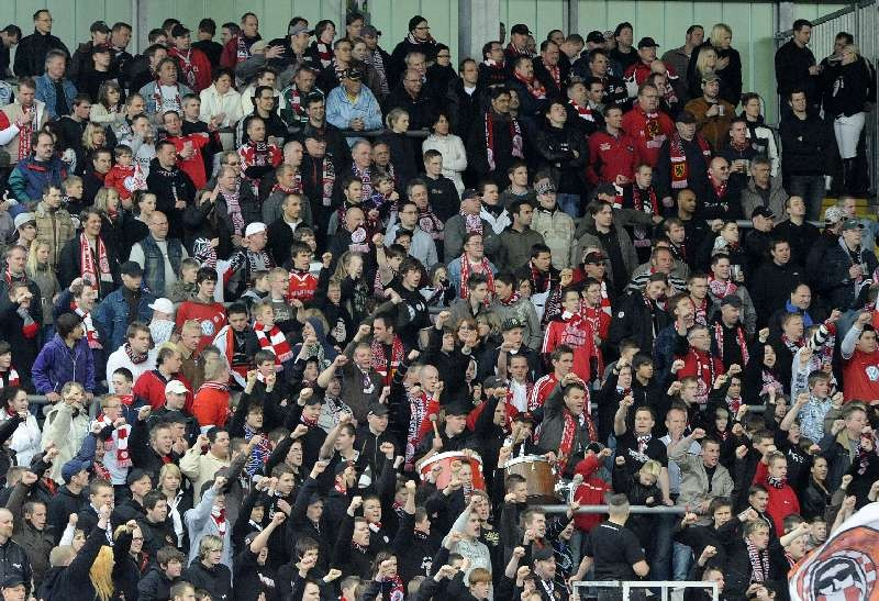 KSV Hessen - SpVgg Unterhaching II: Fans
