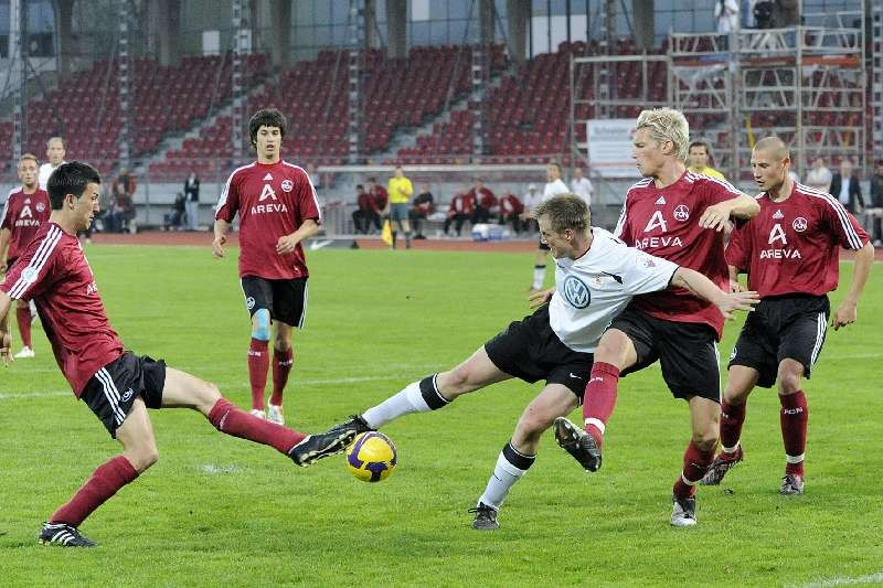 KSV Hessen - 1. FC N�rnberg II: Thorsten Bauer