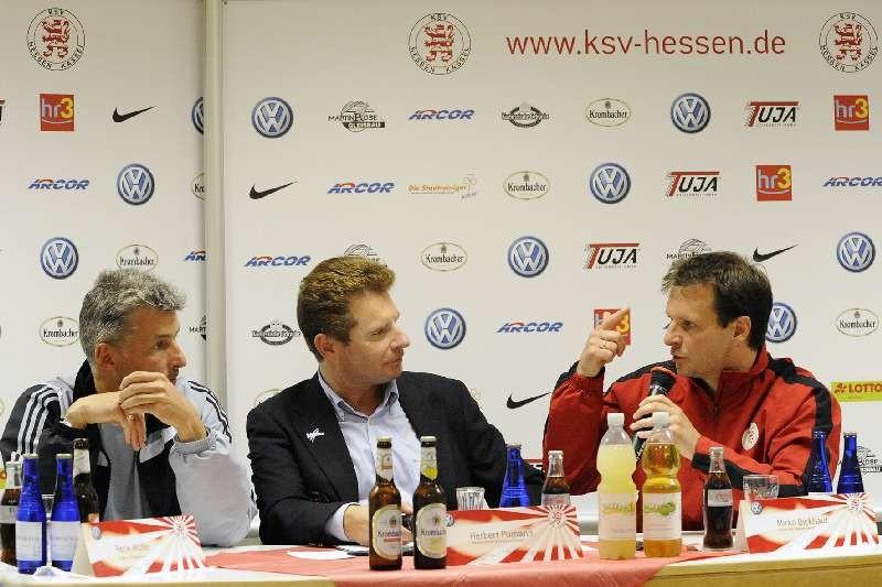 KSV Hessen - 1. FC N�rnberg II: Pressekonferenz