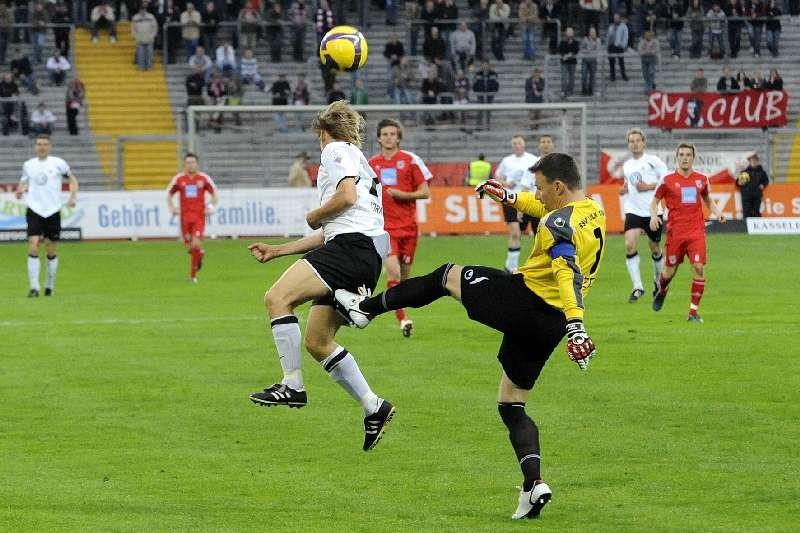 KSV Hessen - SSV Ulm: Dennis Tornieporth
