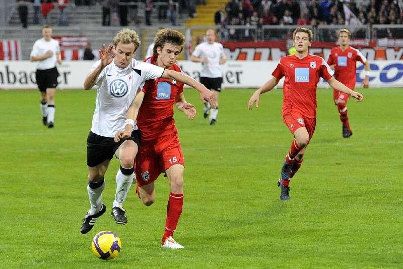 KSV Hessen - SSV Ulm: Enrico Gaede