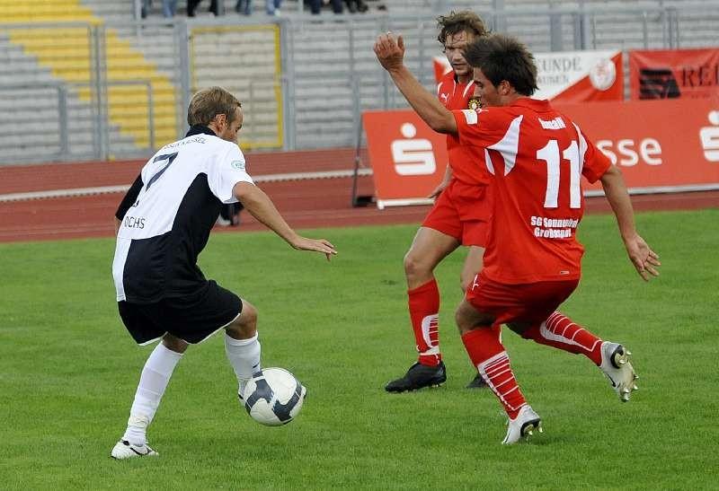 KSV Hessen - SG Sonnenhof Grossaspach: Rene Ochs