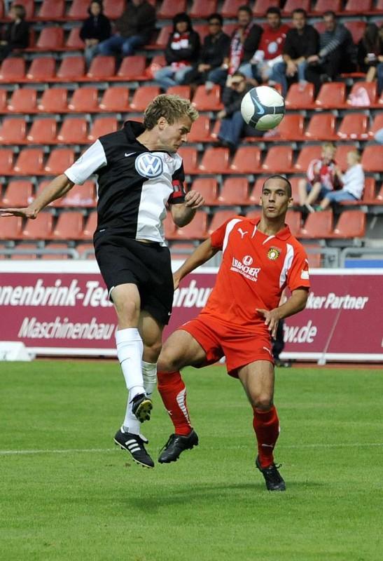 KSV Hessen - SG Sonnenhof Grossaspach: Enrico Gaede