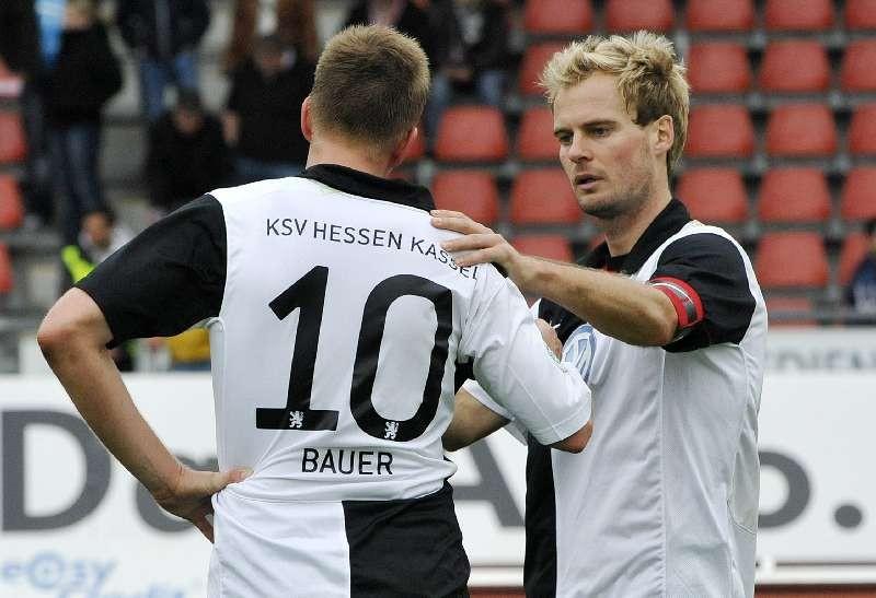 KSV Hessen Kassel - FC Bayern Alzenau: Thorsten Bauer, Enrico Gaede
