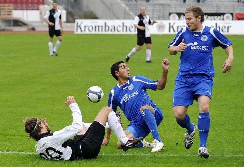 KSV Hessen Kassel - FC Bayern Alzenau: Kevin W�lk