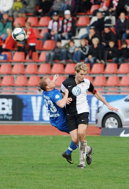 KSV Hessen - Stuttgarter Kickers: Enrico Gaede