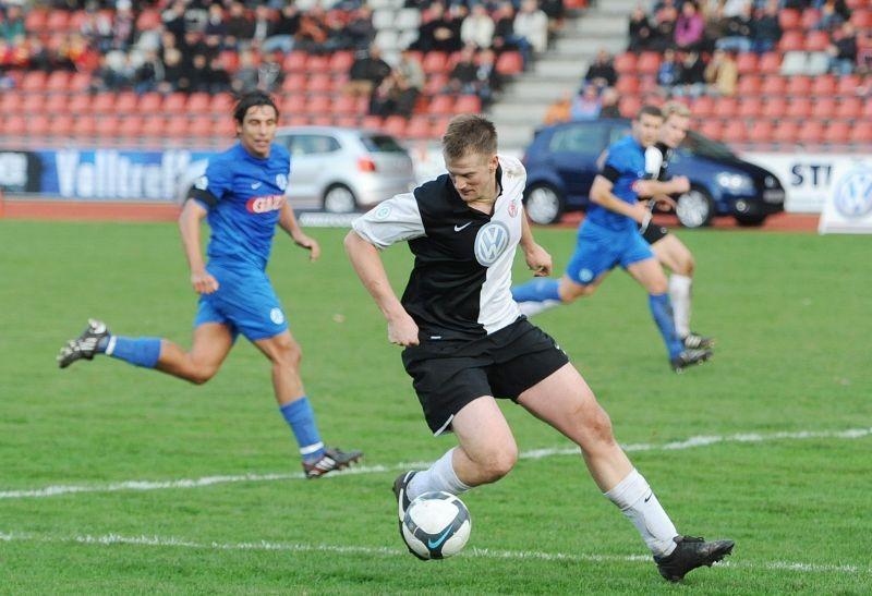 KSV Hessen - Stuttgarter Kickers: Thorsten Bauer