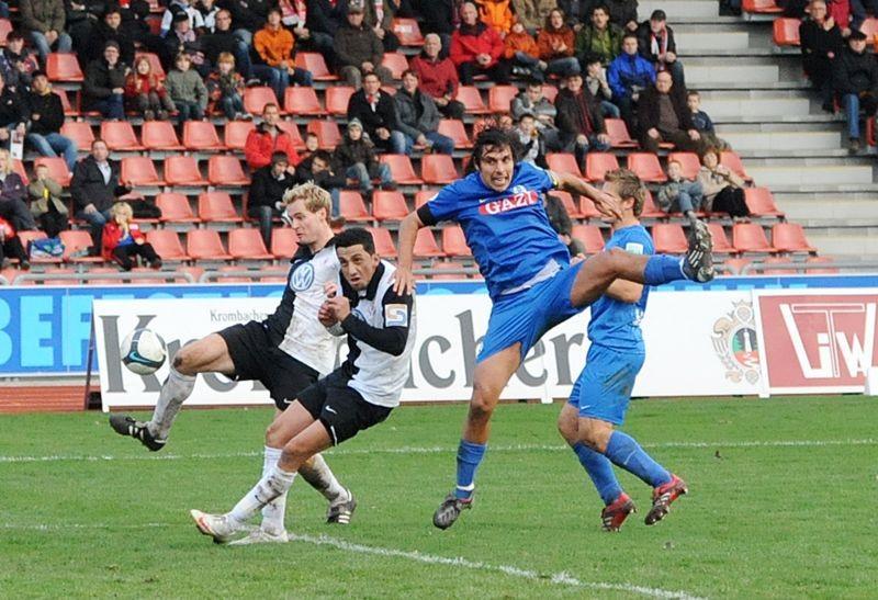 KSV Hessen - Stuttgarter Kickers: Enrico Gaede, Harez Habib