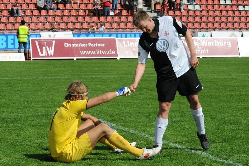 KSV Hessen - SV Wehen Wiesbaden II: Thorsten Bauer